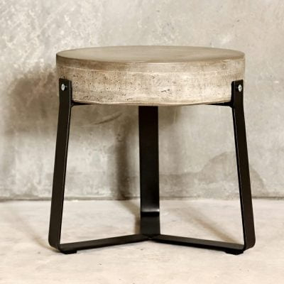Handcrafted Concrete Stool
