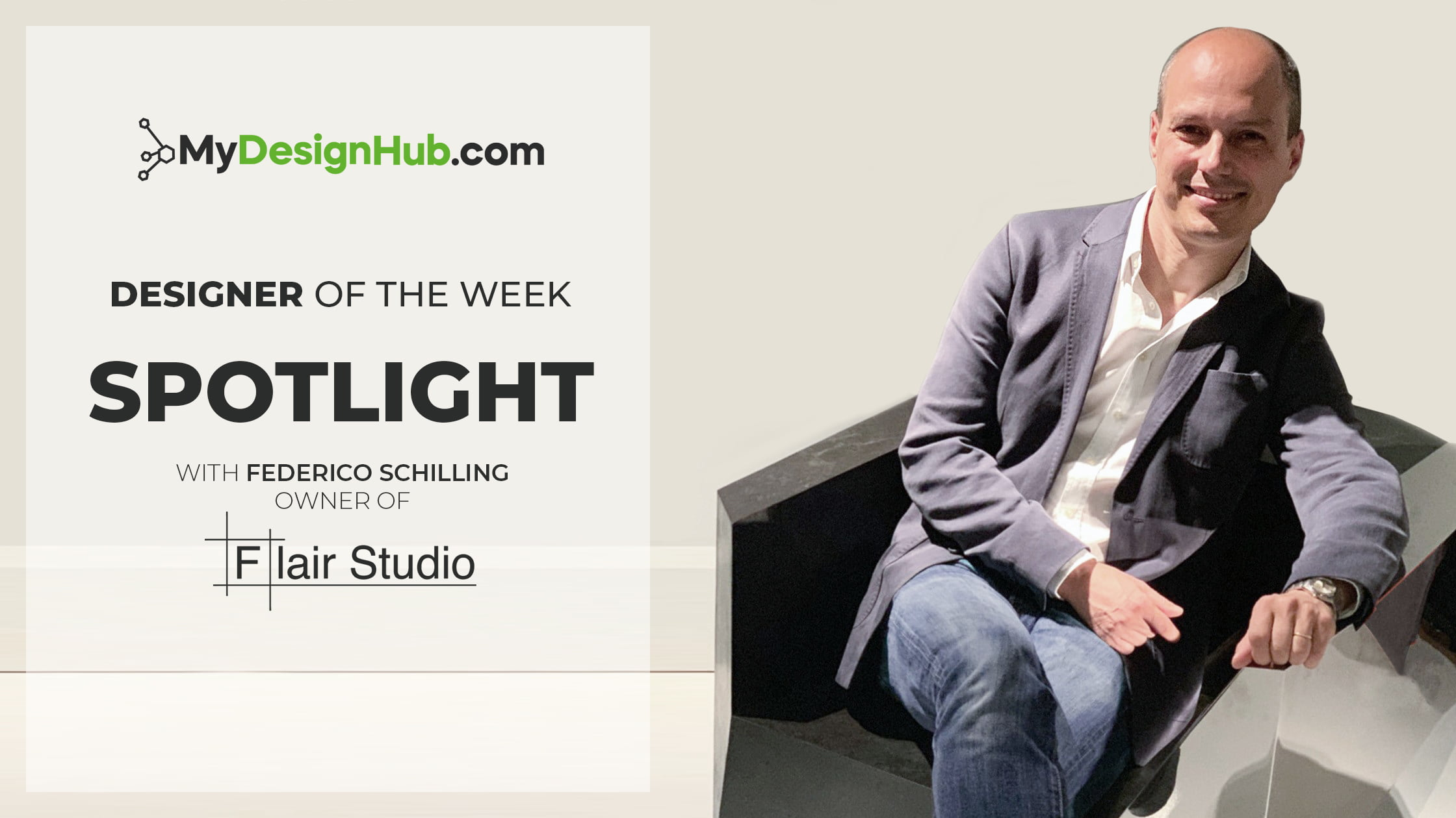 Designer Of The Week Spotlight with Federico Schilling…