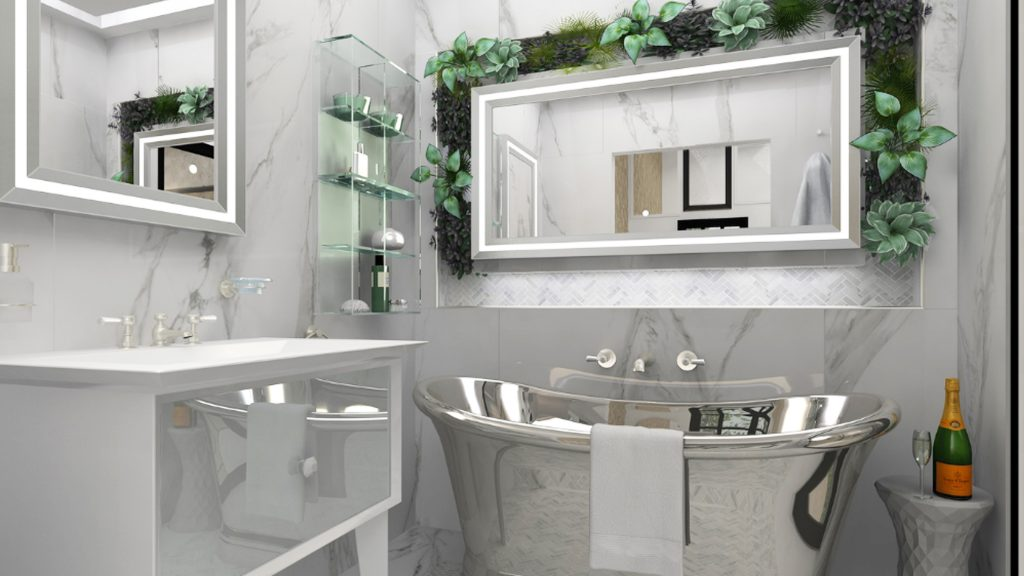 How To Choose A Luxury Bathroom Mirror, Do You Have To A Special Mirror For Bathroom